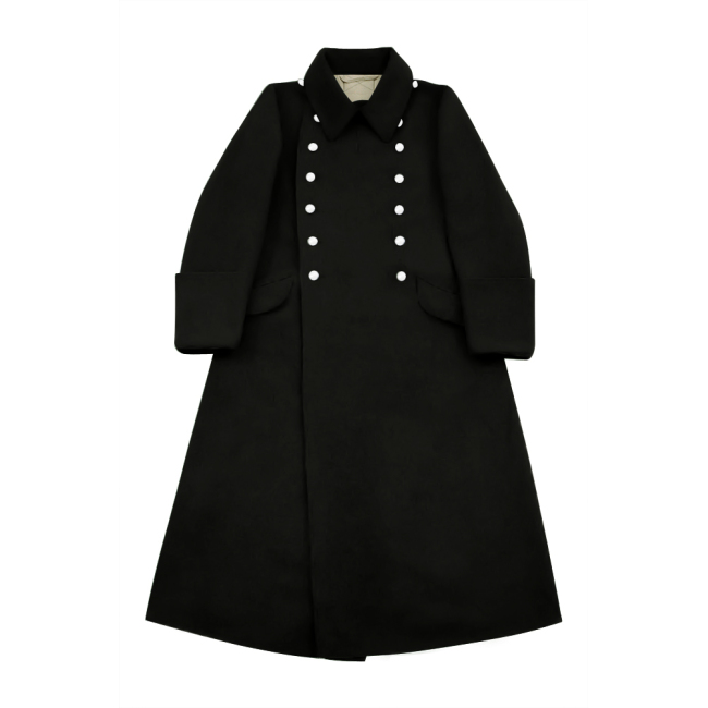 WWII German M32 Allgemeine SS EM Wool Greatcoat