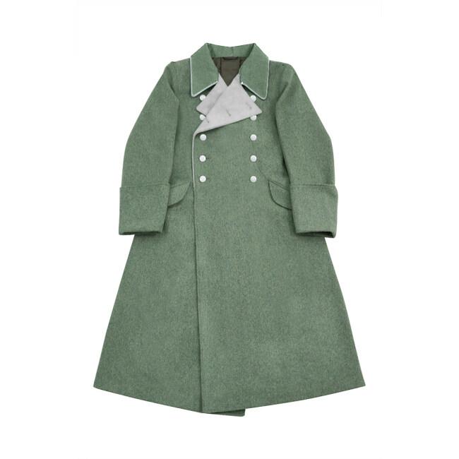 WWII German M37 Allgemeine SS General Wool Greatcoat