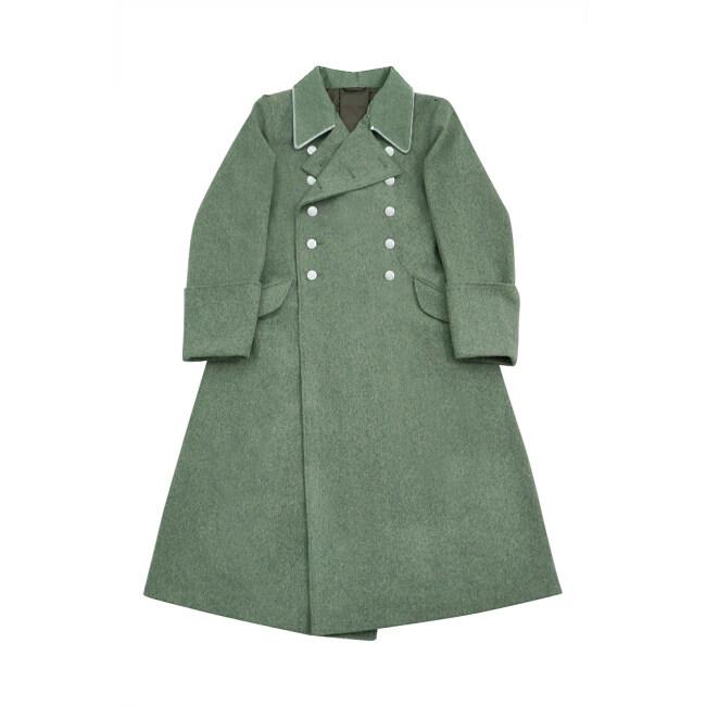 WWII German M37 Allgemeine SS Officer Wool Greatcoat