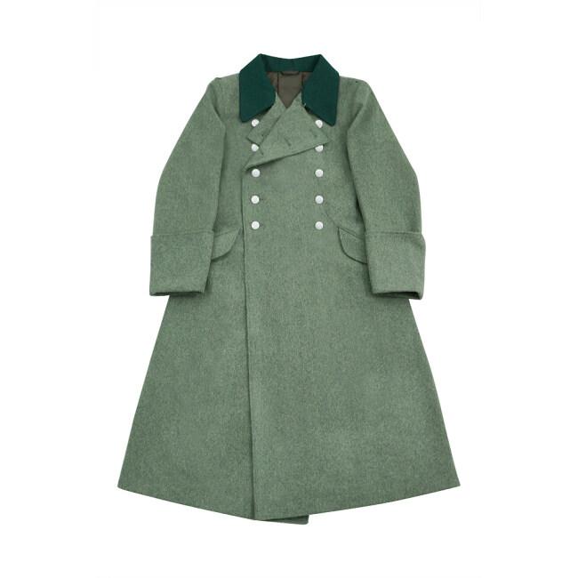 WWII German M40 Allgemeine SS Officer Wool Greatcoat