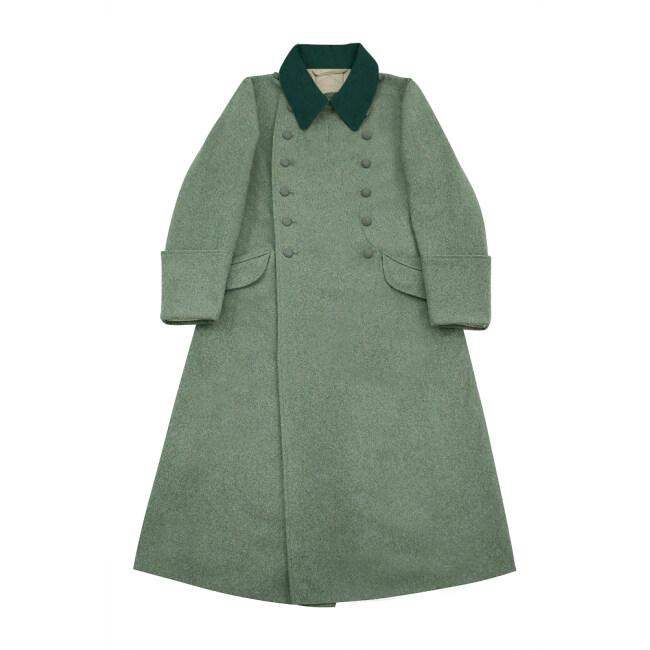 WWII German M36 Waffen SS EM Wool Greatcoat