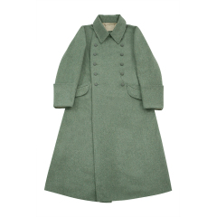 WWII German M40 Waffen SS EM Wool Greatcoat