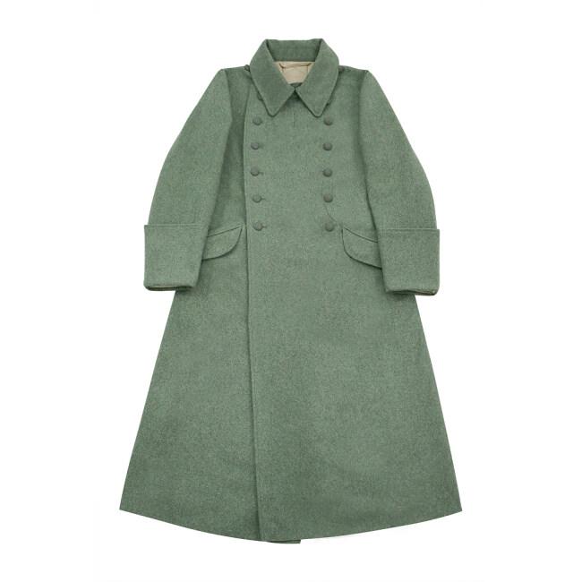 WWII German M40 Waffen SS EM Wool Greatcoat