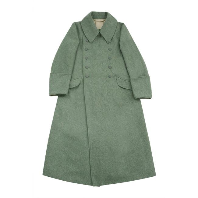 WWII German M42 Waffen SS EM Wool Greatcoat
