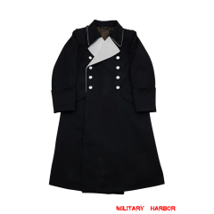 WWII German M32 Allgemeine SS General Gabardine Greatcoat
