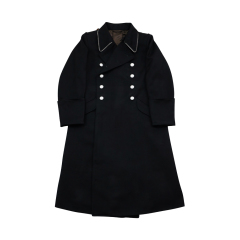 WWII German M32 Allgemeine SS Officer Gabardine Greatcoat