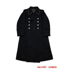 WWII German M32 Allgemeine SS Officer Gabardine Greatcoat