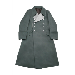 WWII German M37 Allgemeine SS General Gabardine Greatcoat