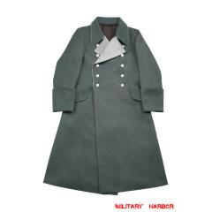 WWII German M37 Allgemeine SS General Gabardine Greatcoat