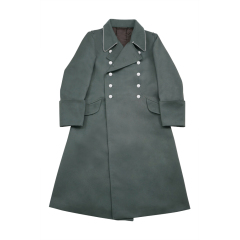 WWII German M37 Allgemeine SS Officer Gabardine Greatcoat