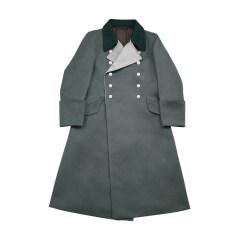 WWII German M40 Waffen SS General Gabardine Greatcoat