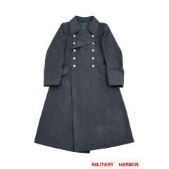 WWII German Luftwaffe Officer Wool Greatcoat