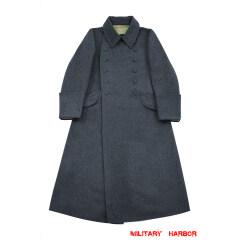 WWII German M40 Luftwaffe EM Wool Greatcoat