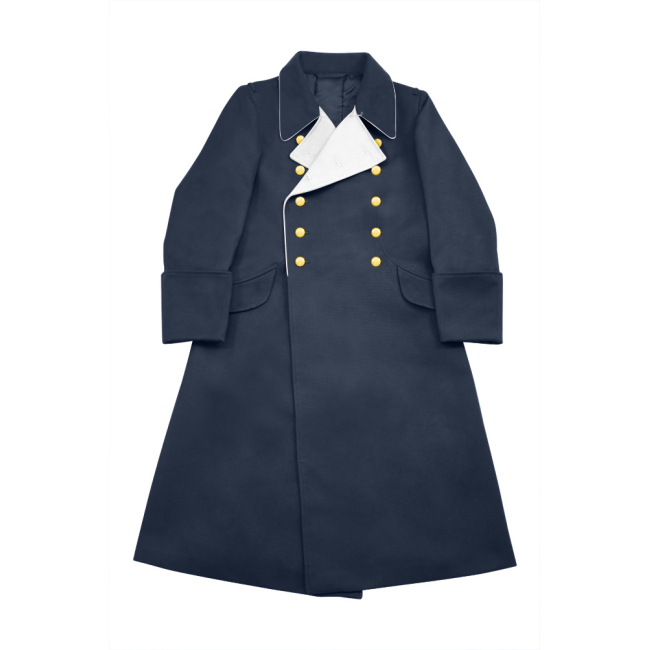 WWII German Luftwaffe General Gabardine Greatcoat