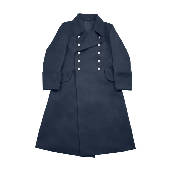 WWII German Luftwaffe Officer Gabardine Greatcoat