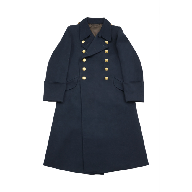 WWII German Kriegsmarine Officer wool Greatcoat