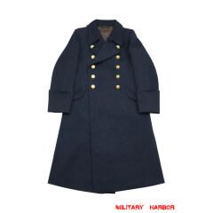 WWII German Kriegsmarine Officer wool Greatcoat