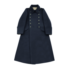 WWII German Kriegsmarine EM Navyblue wool Greatcoat