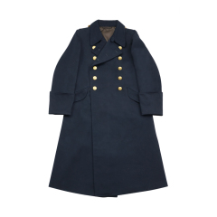 WWII German Kriegsmarine Officer Gabardine Greatcoat