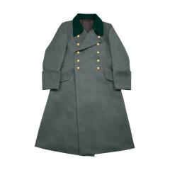 WWII German M36 Kriegsmarine Coastal Officer Gabardine Greatcoat