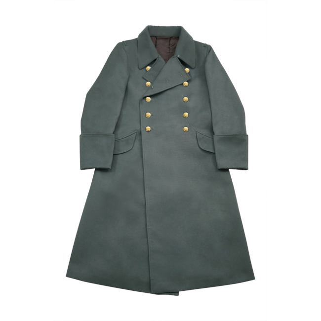 WWII German M40 Kriegsmarine Coastal Officer Gabardine Greatcoat