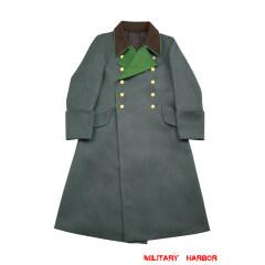 WWII German Police General Gabardine Greatcoat