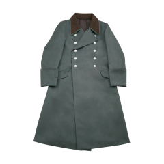 WWII German Police Officer Gabardine Greatcoat