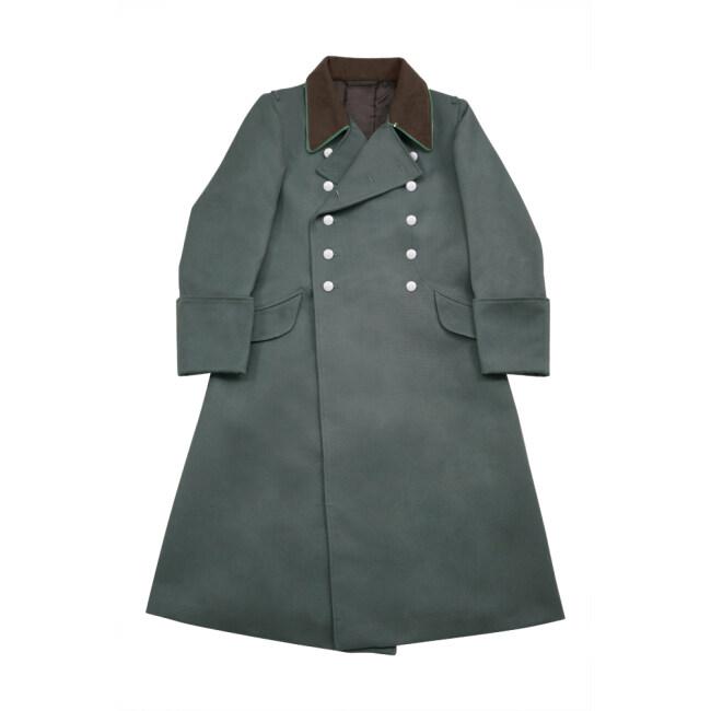 WWII German Police Officer Gabardine Greatcoat
