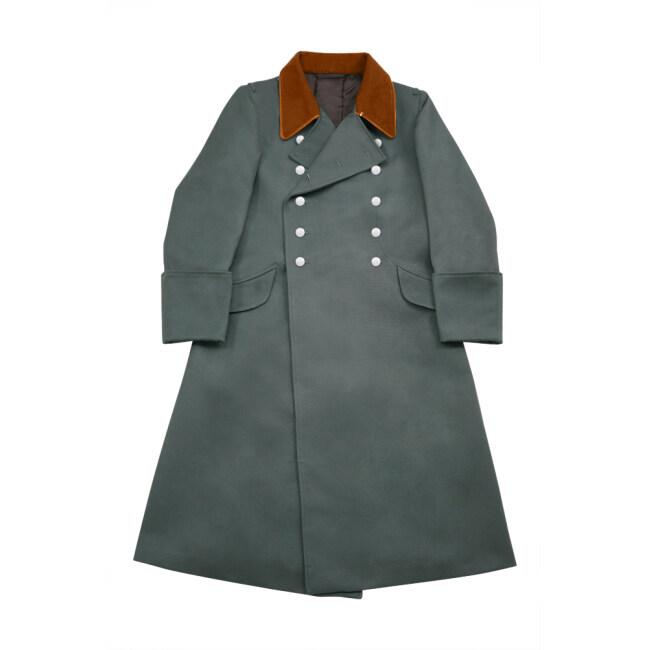 WWII German Police Field Officer Gabardine Greatcoat