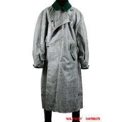 WWII German motorcyclist rubberized raincoat