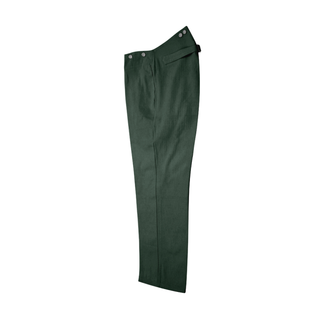WWII German M40 summer HBT reed green field trousers