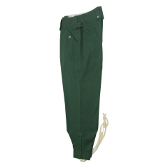 WWII German M43 summer HBT reed green field trousers keilhosen