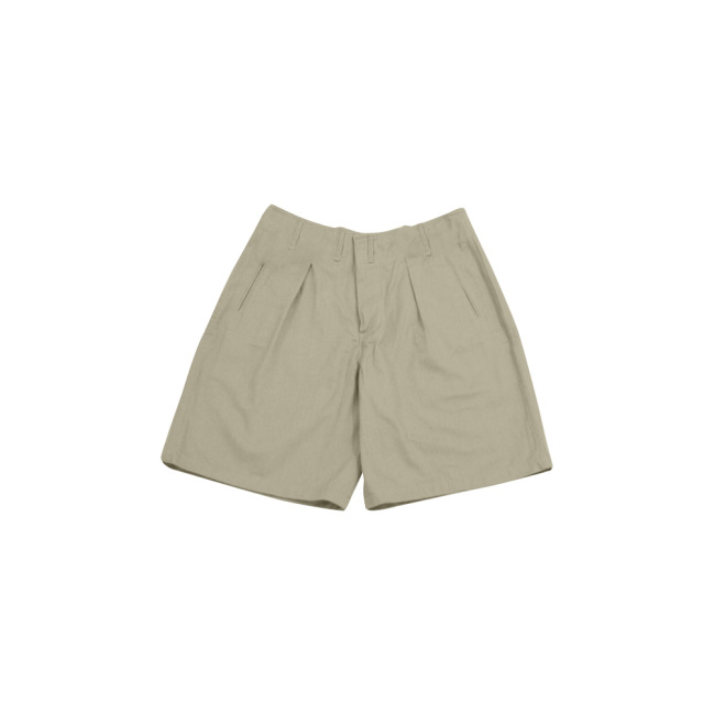 WWII German Summer off-white service short pants