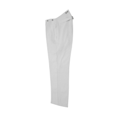 WWII German SS white cotton trousers