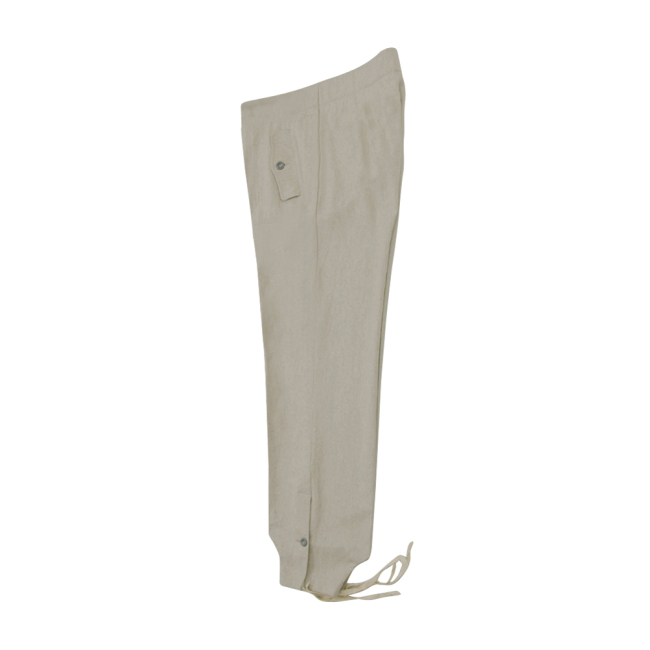 WWII German SS panzer summer HBT off-white trousers