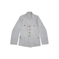 WWII German Kriegsmarine Officer white cotton Jacket tunic