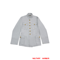 WWII German Kriegsmarine M29 Officer Summer white Jacket tunic