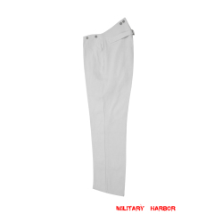 WWII German Kriegsmarine white cotton trousers