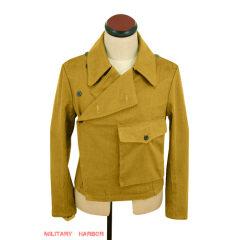WWII German DAK Tropical Afrikakorps Luftwaffe sand panzer wrap jacket type II