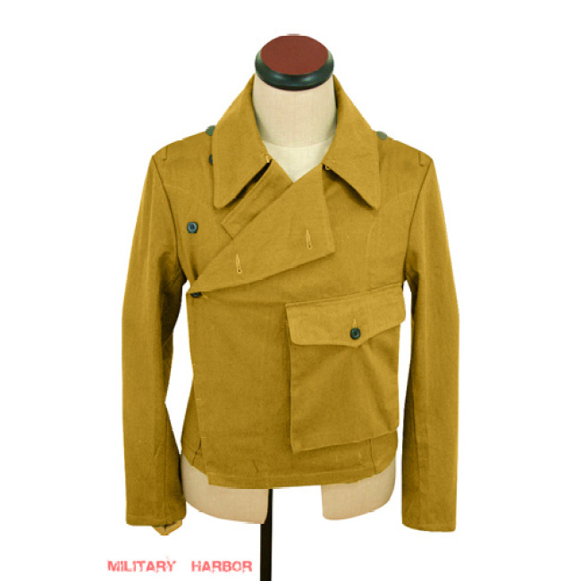 WWII German DAK Tropical Afrikakorps Luftwaffe sand panzer wrap jacket type II