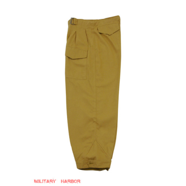WWII German DAK/Tropical Afrikakorps Luftwaffe sand trousers