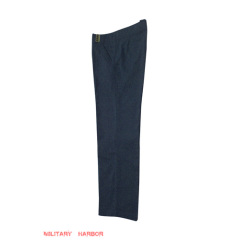 WWII German Luftwaffe summer blue grey straight trousers