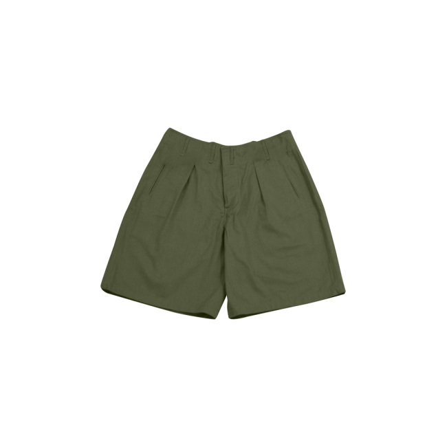 WWII German DAK/Tropical Afrikakorps olivebrown short pants