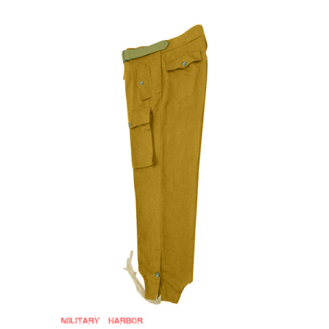 WWII German DAK Tropical Afrikakorps Luftwaffe sand panzer trousers