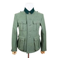 WWII German M36 Heer EM fieldgrey wool tunic Feldbluse (5 buttons)