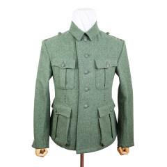 WWII German M40 Heer EM fieldgrey wool tunic Feldbluse