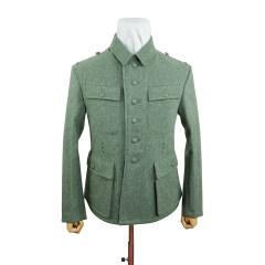 WWII German M43 Heer EM fieldgrey wool tunic Feldbluse