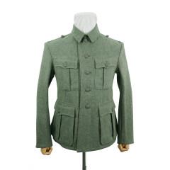 WWII German M33 Heer EM fieldgrey wool tunic Feldbluse