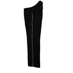 WWII German M32 SS black wool straight pants