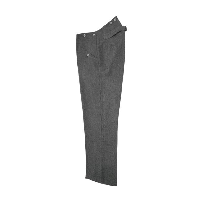 WWII German M36 stone grey wool trousers